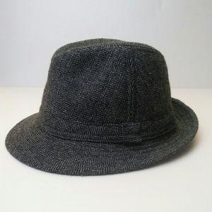 Wool Herringbone Stetson, 22.5